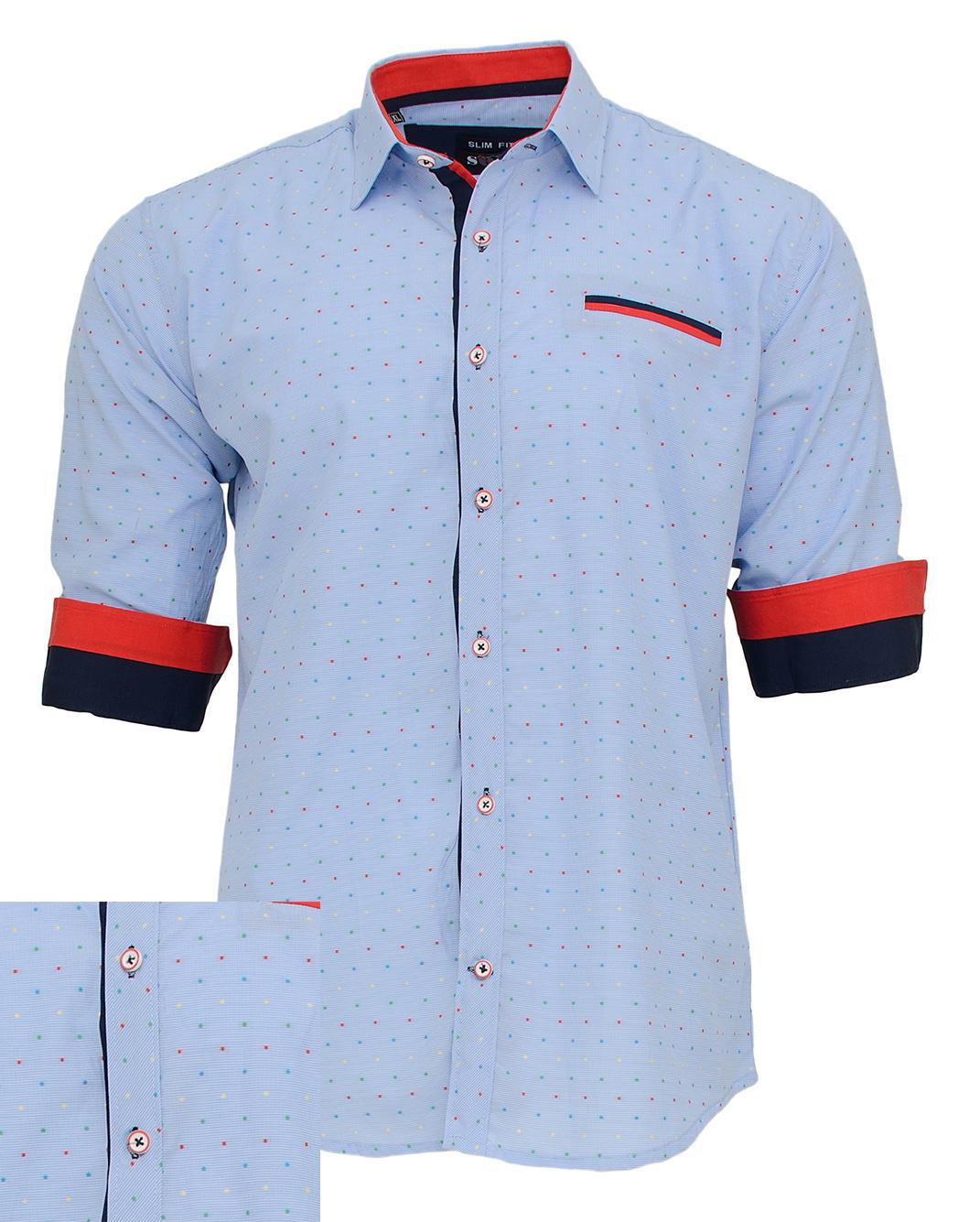 Ανδρικό Πουκάμισο So Fashion Ciel Poua-Σιέλ αρχική ανδρικά ρούχα πουκάμισα