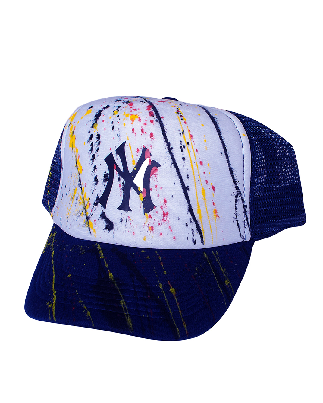 Ανδρικό Καπέλο Blue Splash-Μπλε αρχική αξεσουάρ καπέλα