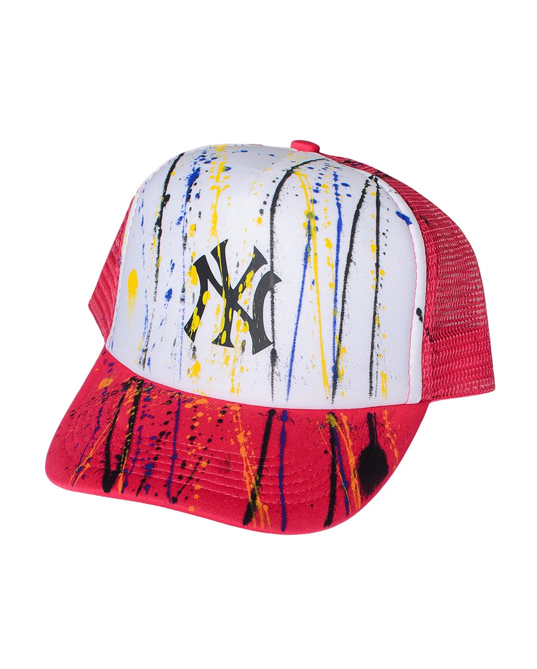 Ανδρικό Καπέλο NY-Φούξια αρχική αξεσουάρ καπέλα