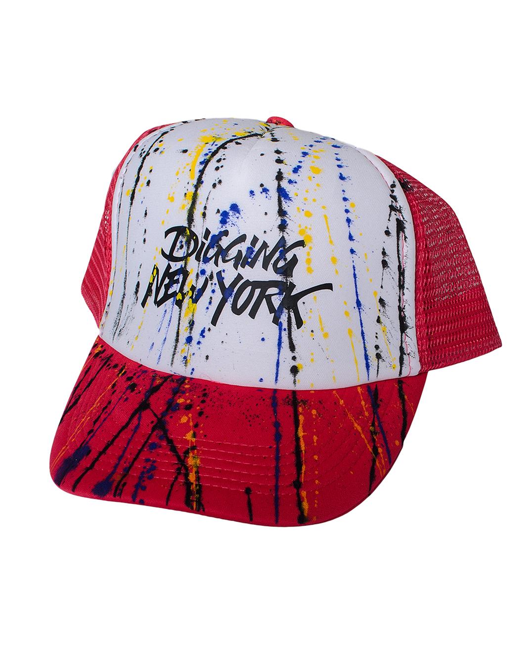 Ανδρικό Καπέλο Digging Splash-Φούξια αρχική αξεσουάρ καπέλα