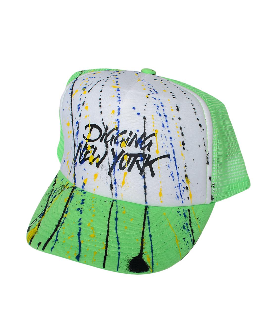 Ανδρικό Καπέλο Digging Green-Πράσινο αρχική αξεσουάρ καπέλα