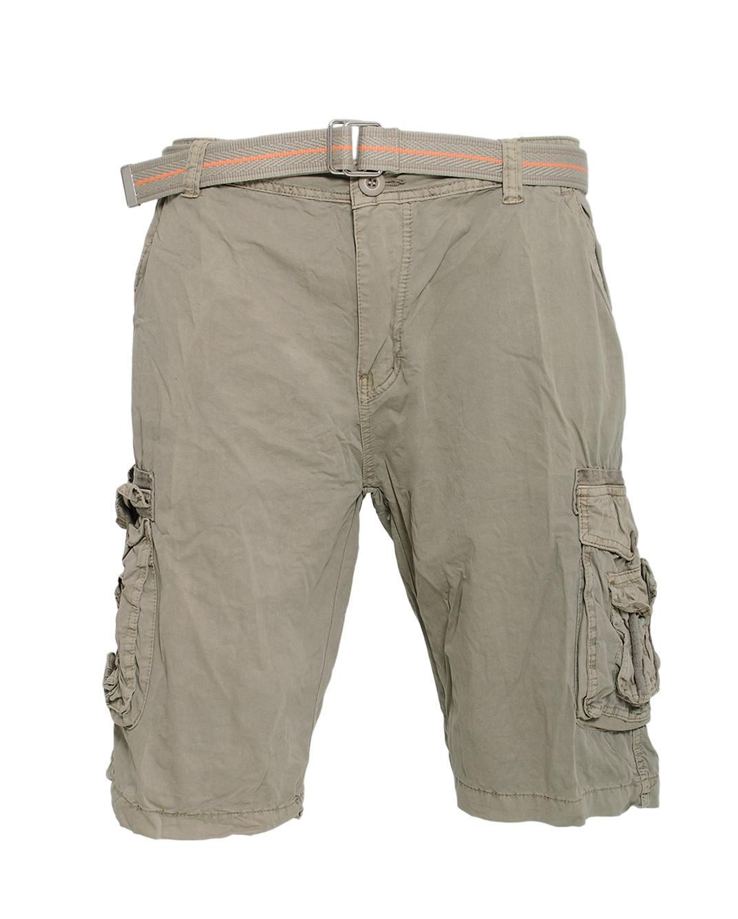 Ανδρική Βερμούδα Cargo Beige-Μπεζ αρχική ανδρικά ρούχα βερμούδες