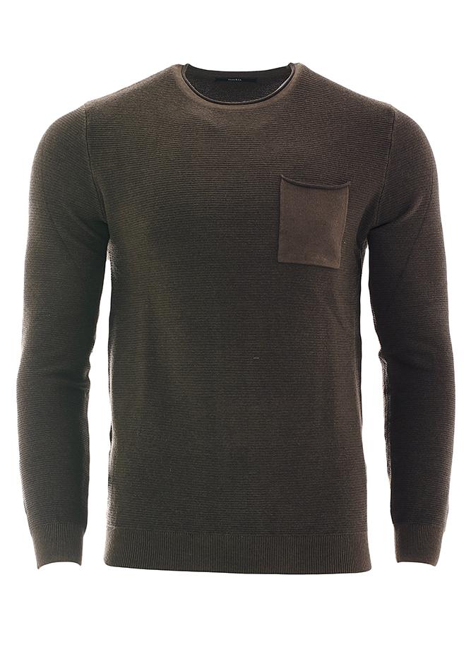 Ανδρική Μπλούζα Out Olive Green αρχική ανδρικά ρούχα επιλογή ανά προϊόν πλεκτά