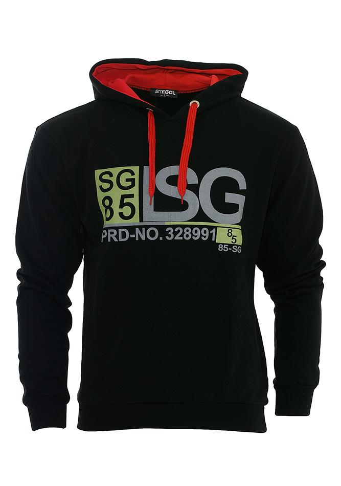 Ανδρικό Φούτερ LGC Black αρχική ανδρικά ρούχα φούτερ