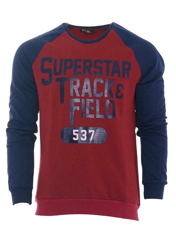 Ανδρικό Φούτερ Superstar Red αρχική ανδρικά ρούχα φούτερ