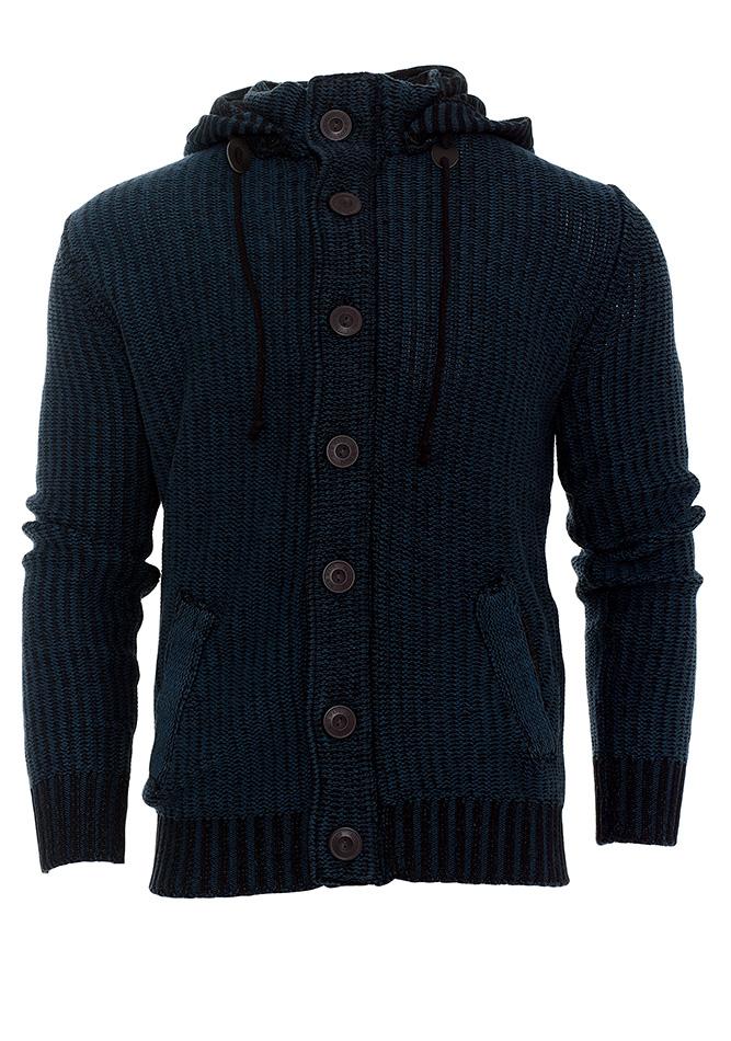 Ανδρική Πλεκτή Ζακέτα New Wave D.Blue αρχική ανδρικά ρούχα επιλογή ανά προϊόν ζακέτες