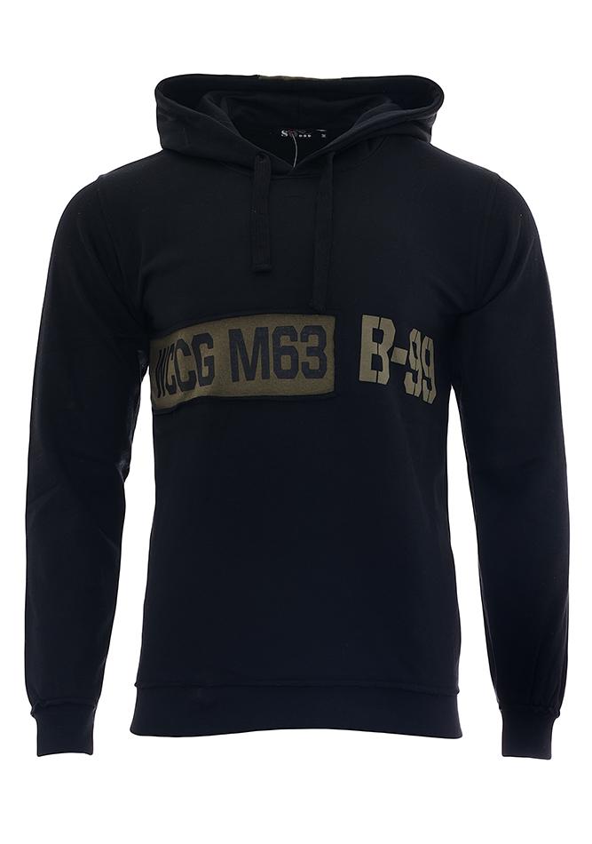 Ανδρικό Φούτερ Plus Black αρχική ανδρικά ρούχα επιλογή ανά προϊόν φούτερ