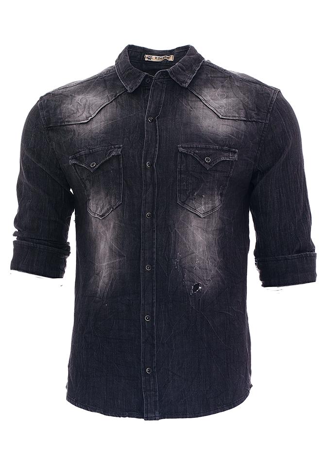 Ανδρικό Jean Πουκάμισο Age αρχική ανδρικά ρούχα επιλογή ανά προϊόν πουκάμισα