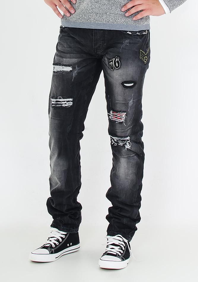 Ανδρικό Jean Justing Who Cares αρχική ανδρικά ρούχα παντελόνια παντελόνια jeans