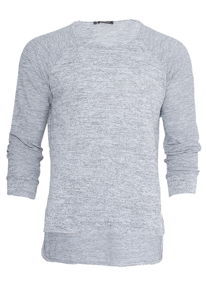 """Mπλούζα Grey """"Smith"""" αρχική ανδρικά ρούχα μπλούζες"""