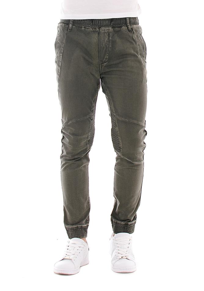 Ανδρικό Chino Παντελόνι Olive Justing αρχική ανδρικά ρούχα επιλογή ανά προϊόν παντελόνια παντελόνια chinos