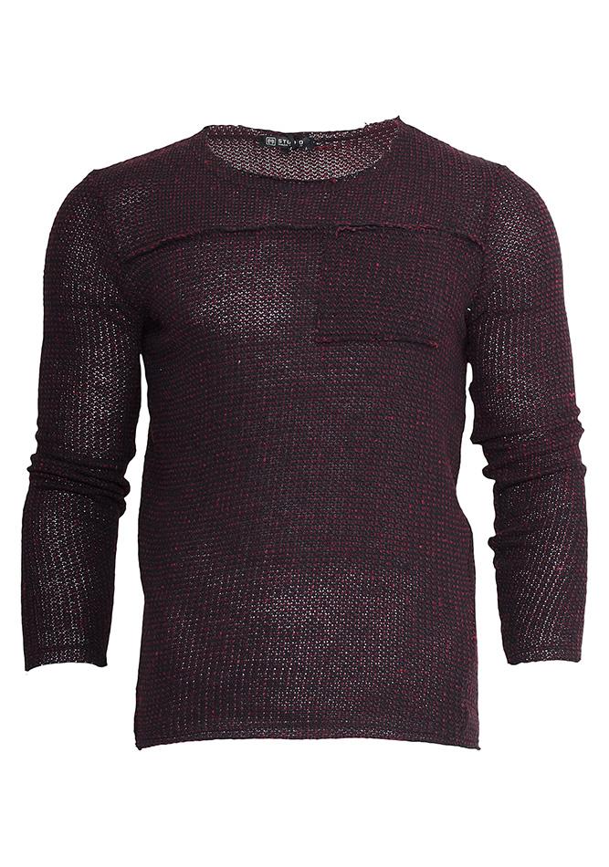 Ανδρική Μπλούζα Smash Bordeaux αρχική ανδρικά ρούχα μπλούζες