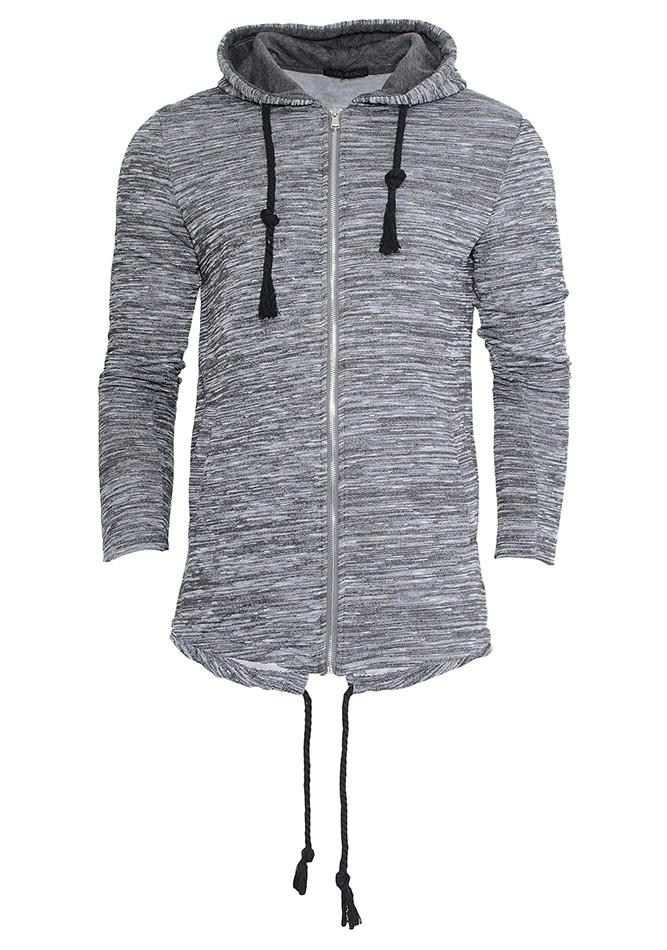 Ζακέτα Stegol Grey 9c7c26fb054