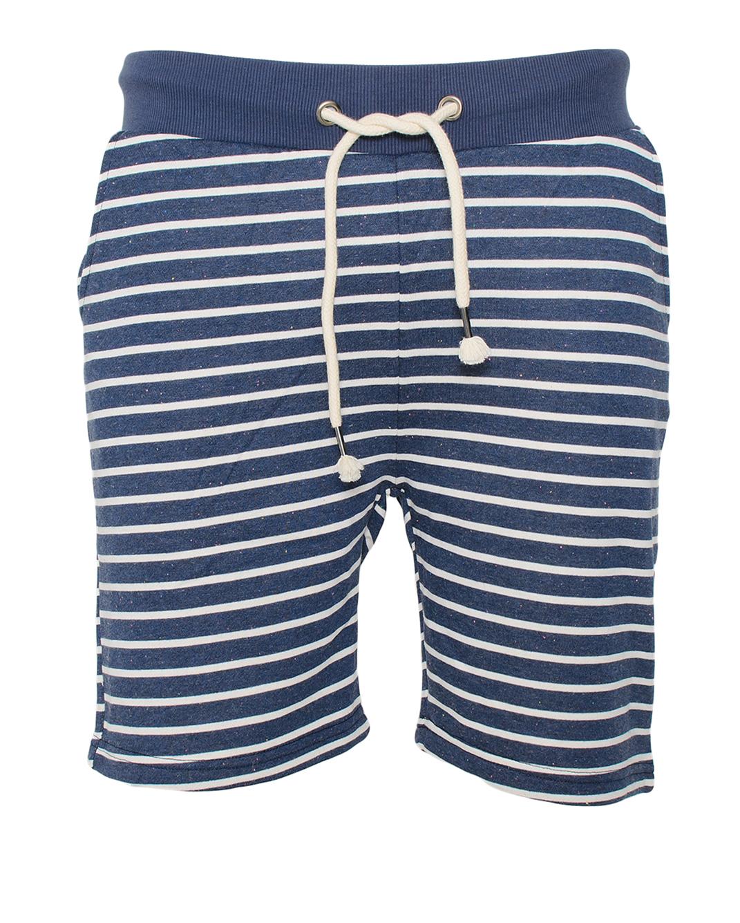 Ανδρική Βερμούδα Stripes-Μπλε αρχική ανδρικά ρούχα βερμούδες