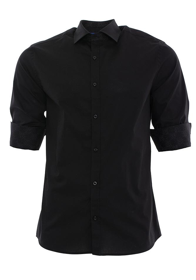 Ανδρικό Πουκάμισο Brand's Black αρχική ανδρικά ρούχα πουκάμισα