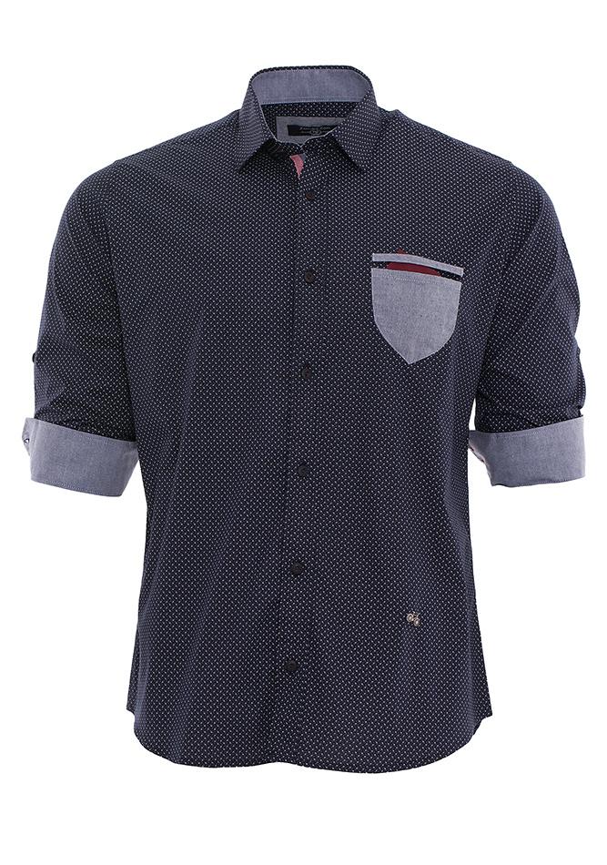 Ανδρικό Πουκάμισο Napkins Bordeaux αρχική ανδρικά ρούχα επιλογή ανά προϊόν πουκάμισα