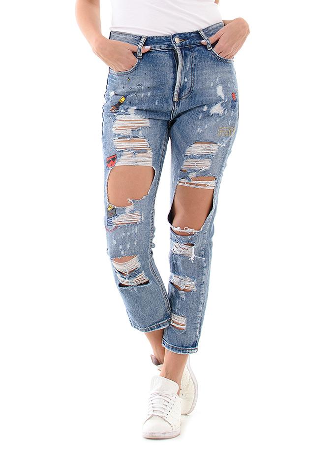 Γυναικείο Jean Water Blue αρχική γυναικεία ρούχα παντελόνια