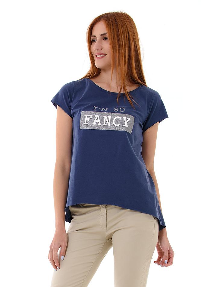 Μπλούζα Fancy Blue αρχική γυναικεία ρούχα μπλούζες   tops