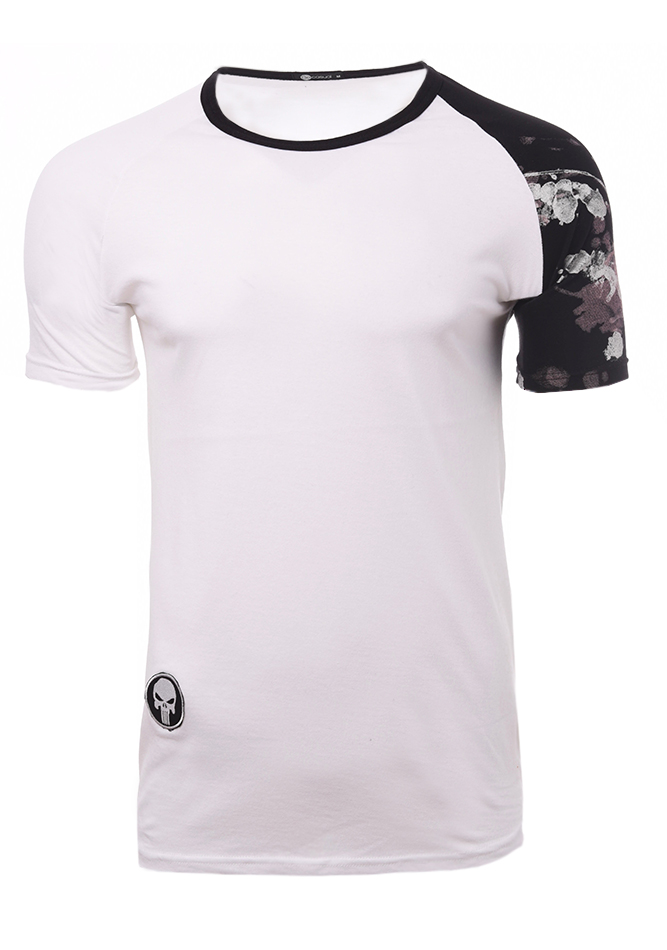 Ανδρικό T-shirt One White