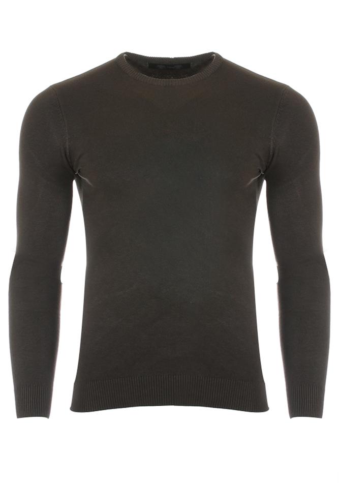 Ανδρική Πλεκτή Μπλούζα Cover D.Grey αρχική άντρας