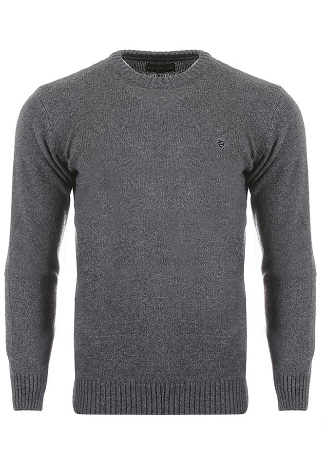 Ανδρική Πλεκτή Μπλούζα Clearly D.Grey αρχική άντρας
