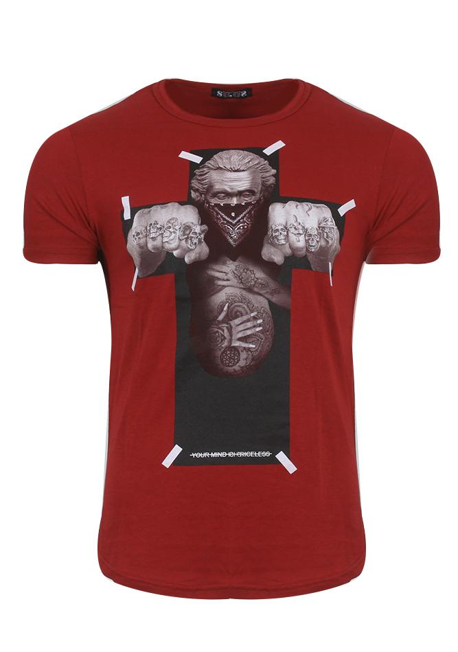 Ανδρικό T-Shirt Cross Red αρχική άντρας
