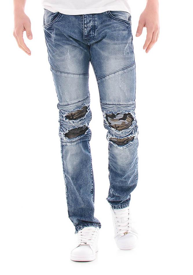 Ανδρικό Jean Army Knees αρχική ανδρικά ρούχα επιλογή ανά προϊόν παντελόνια παντελόνια jeans