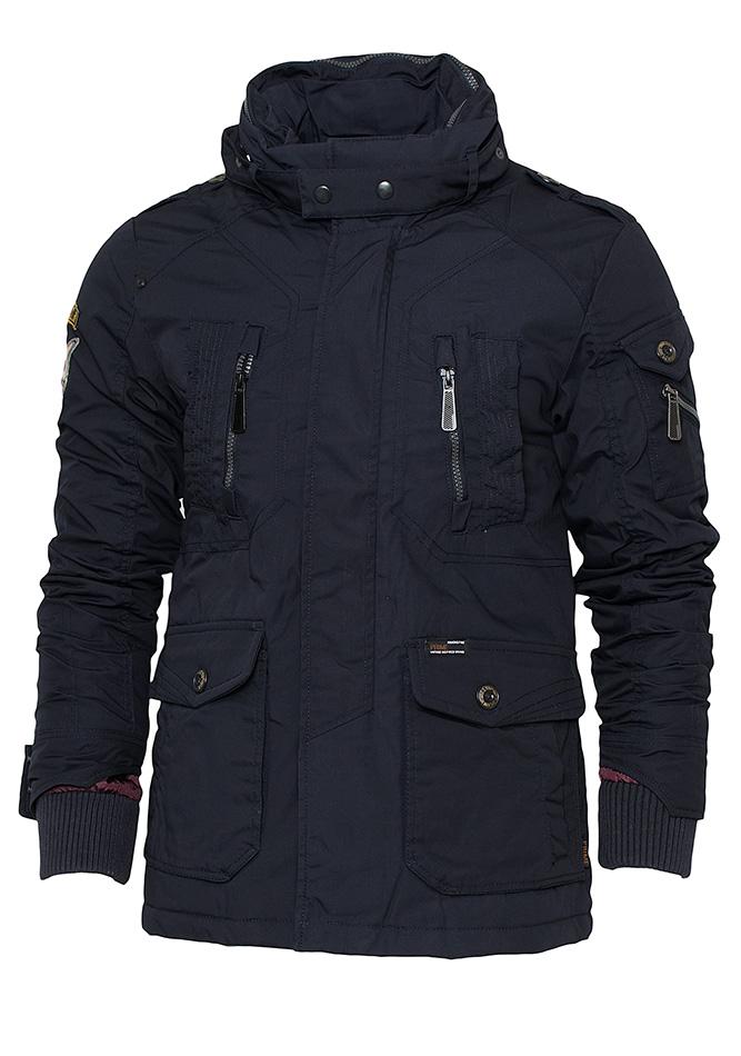 Ανδρικό Μπουφάν Biston Genuine D.Blue αρχική ανδρικά ρούχα επιλογή ανά προϊόν μπουφάν