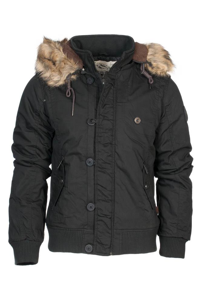 Ανδρικό μπουφάν Βiston Black αρχική ανδρικά ρούχα μπουφάν