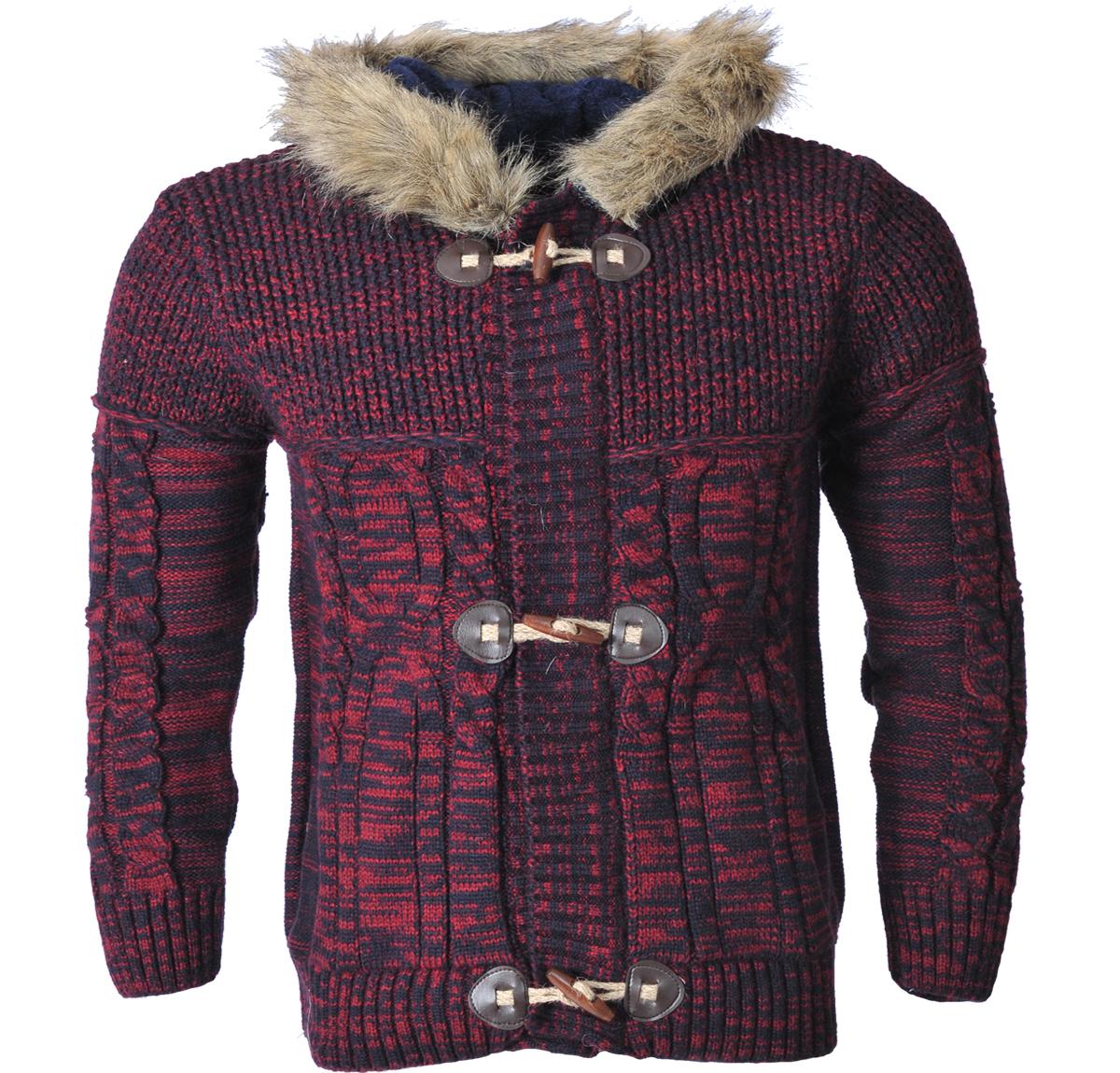 Πλεκτή Ζακέτα For Hood αρχική ανδρικά ρούχα ζακέτες