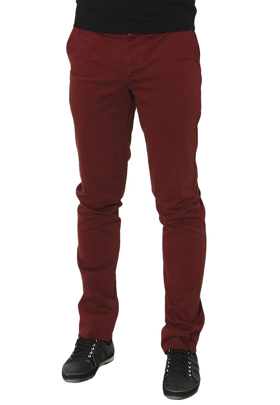 Ανδρικό Chino Παντελόνι Bordeaux -Μπορντό αρχική ανδρικά ρούχα παντελόνια chinos