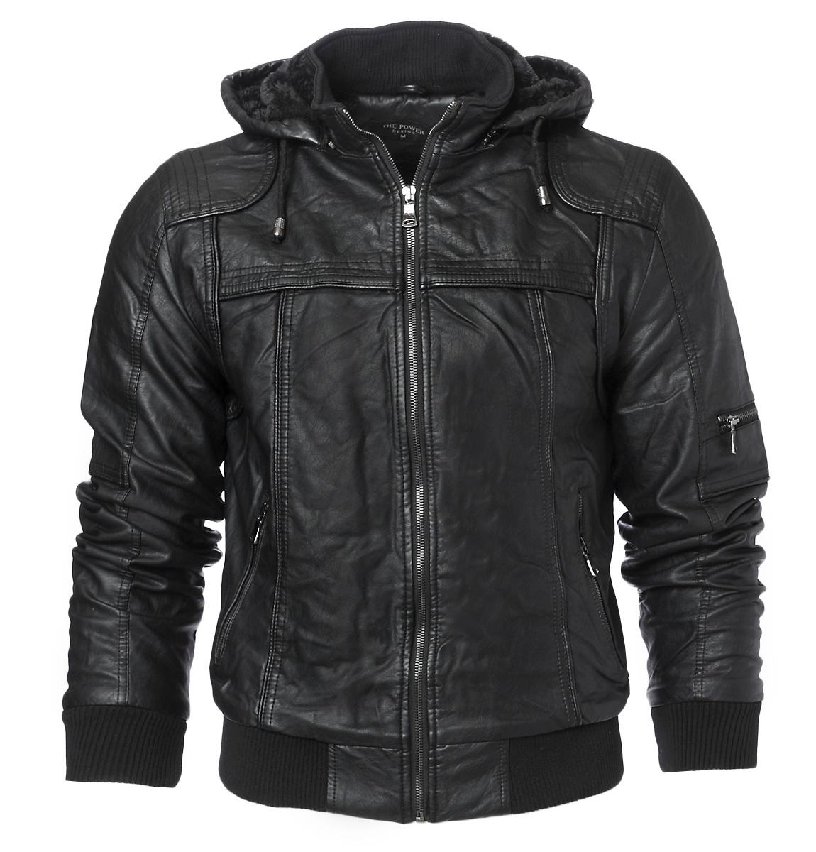 Ανδρικό Μπουφάν Black αρχική ανδρικά ρούχα μπουφάν