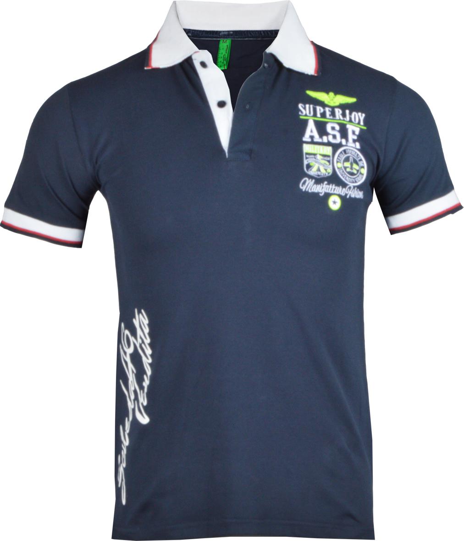 Ανδρικό Polo Super D.Blue αρχική ανδρικά ρούχα polo