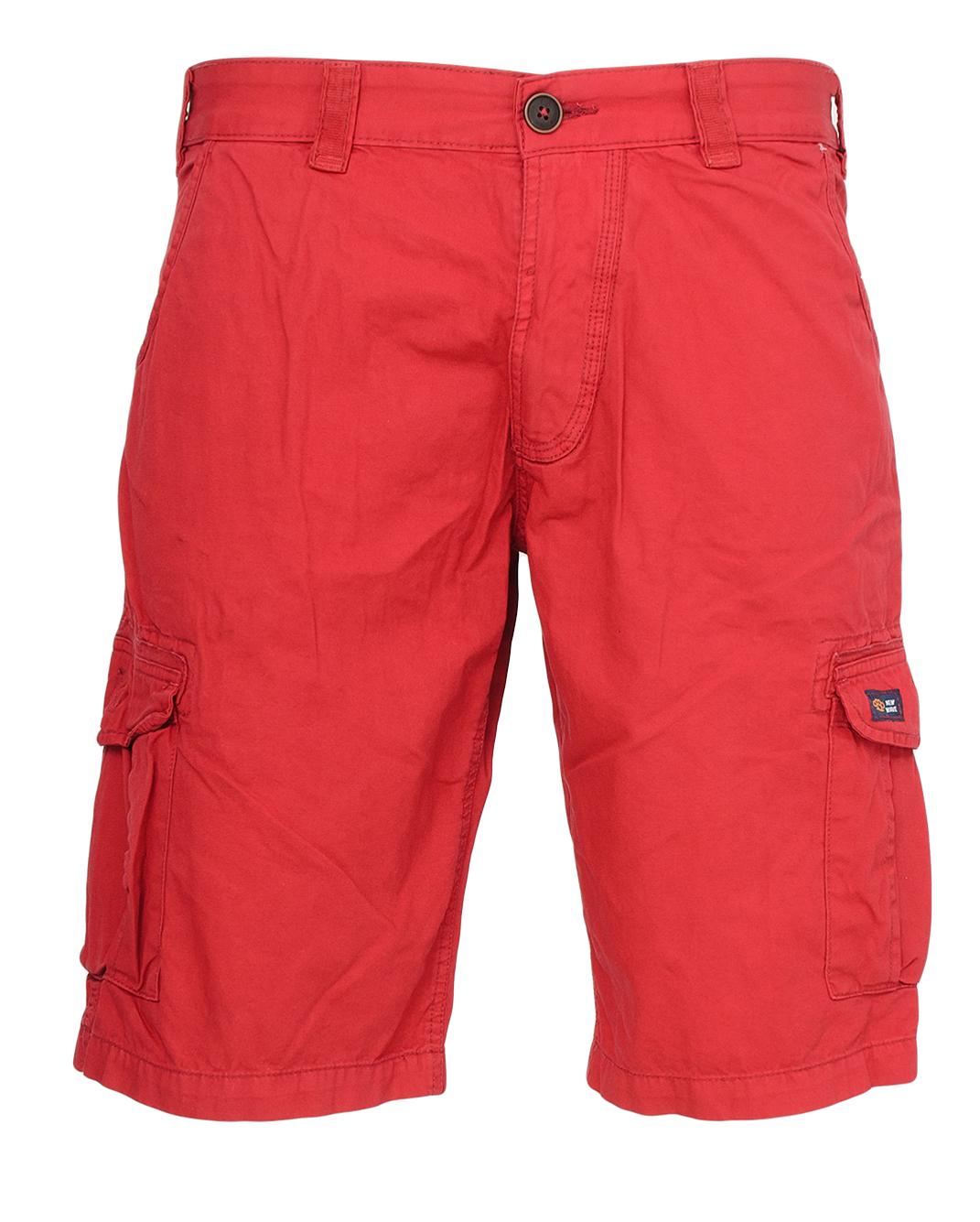 Ανδρική Βερμούδα New Wave Cargo Red αρχική ανδρικά ρούχα επιλογή ανά προϊόν βερμούδες