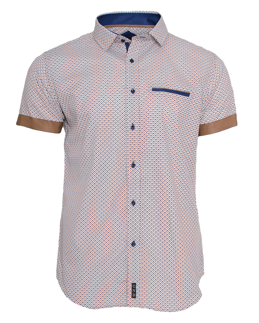 Κοντομάνικο Πουκάμισο CND αρχική ανδρικά ρούχα επιλογή ανά προϊόν πουκάμισα