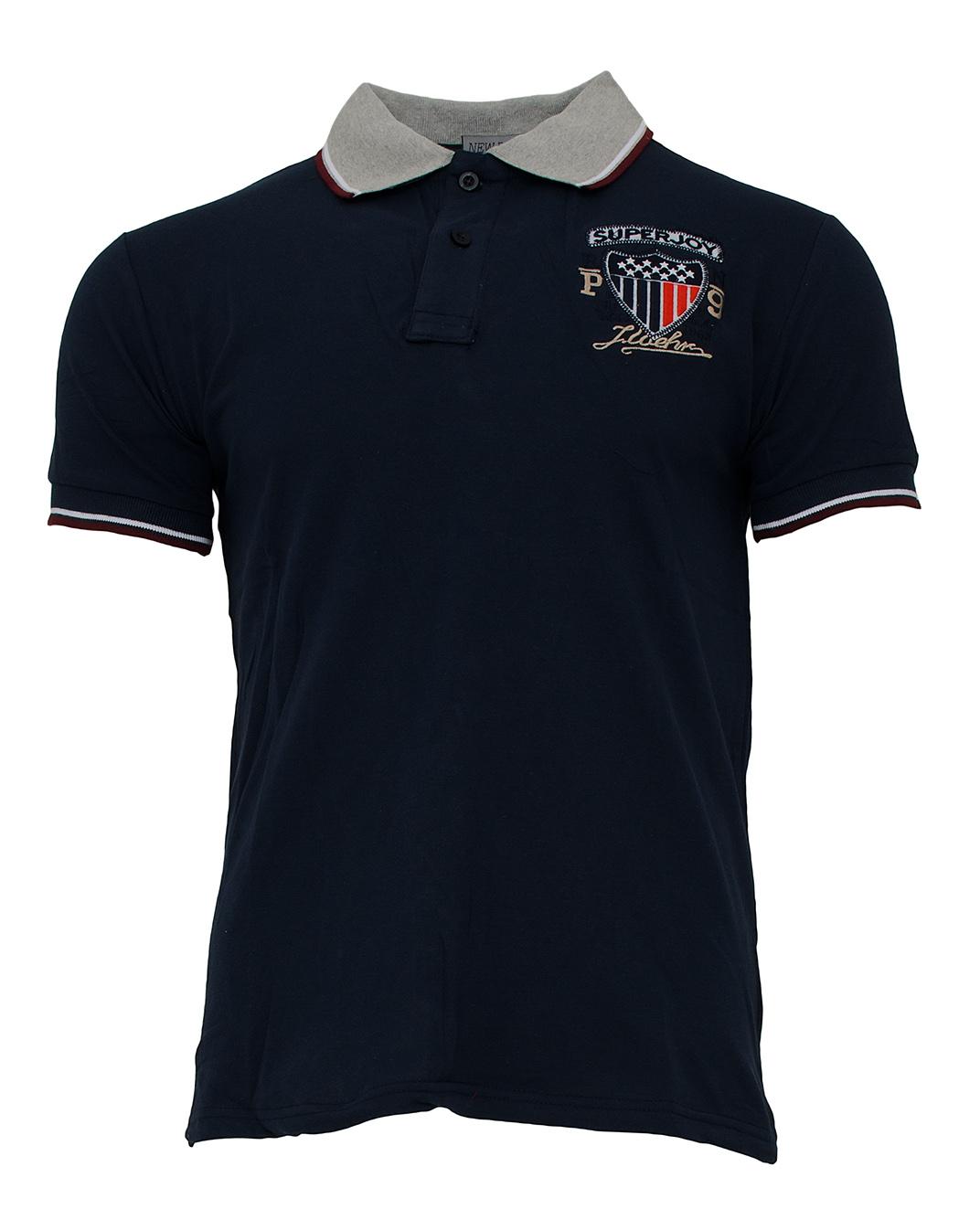 Ανδρικό Polo Joy D.Blue αρχική ανδρικά ρούχα polo