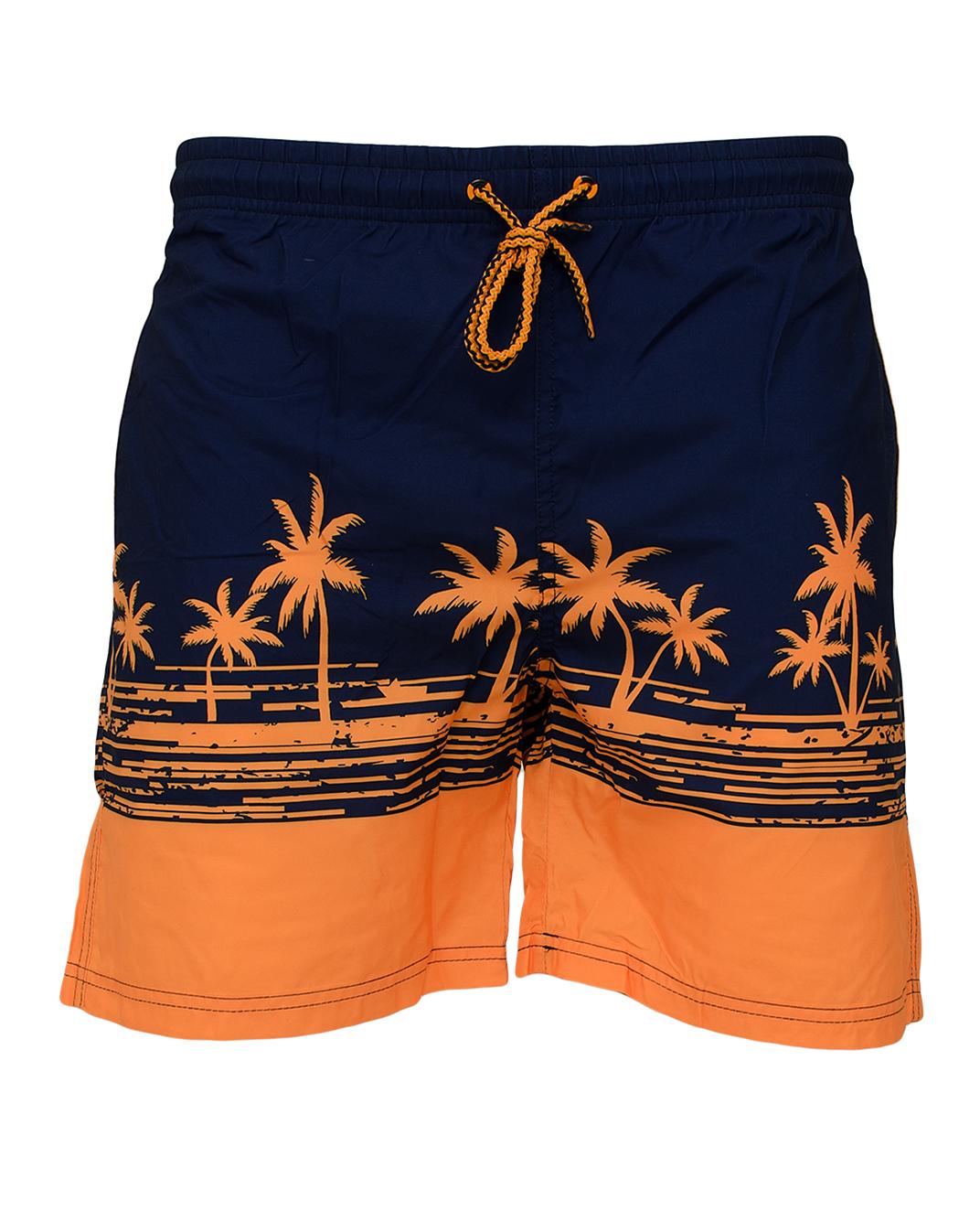 Ανδρικό Μαγιώ Orange Palm αρχική άντρας βερμούδες μαγιό
