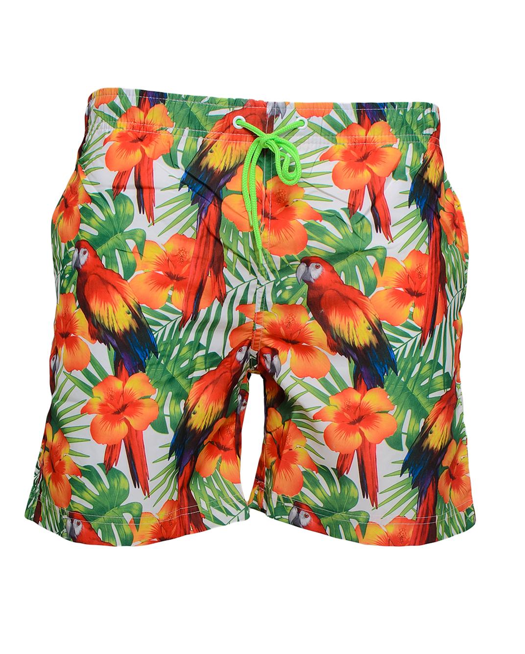 Ανδρικό Μαγιώ Flower Parrot αρχική ανδρικά ρούχα επιλογή ανά προϊόν μαγιό
