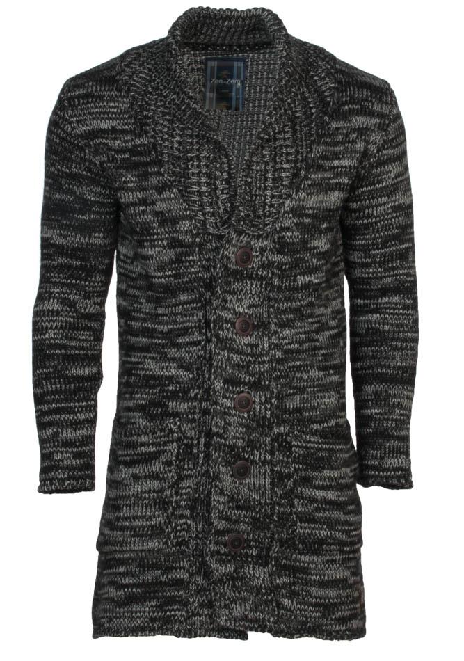 Πλεκτή Ζακέτα Unique D.Grey αρχική ανδρικά ρούχα ζακέτες