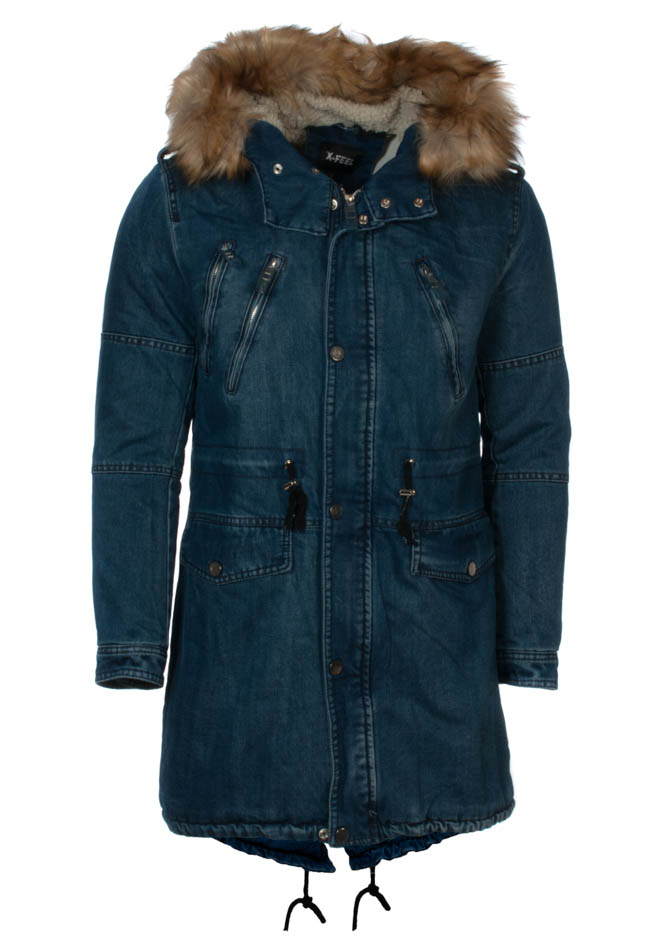 Ανδρικό Parka Jean Blue αρχική ανδρικά ρούχα επιλογή ανά προϊόν μπουφάν