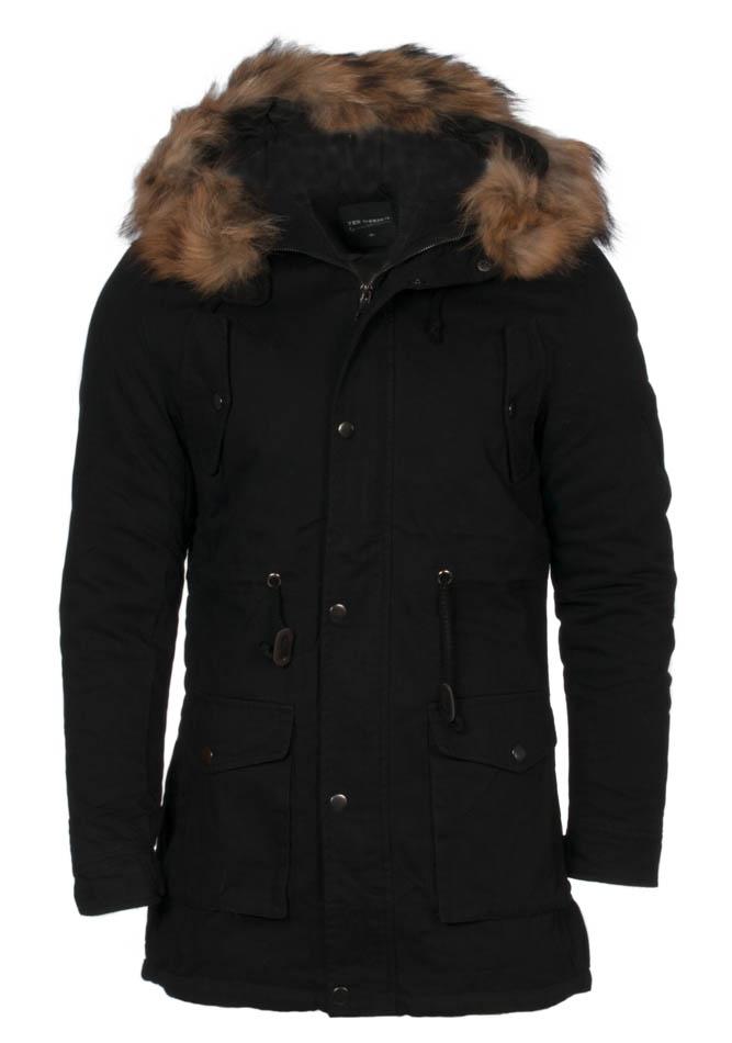 Ανδρικό Μπουφάν Design Black αρχική ανδρικά ρούχα μπουφάν