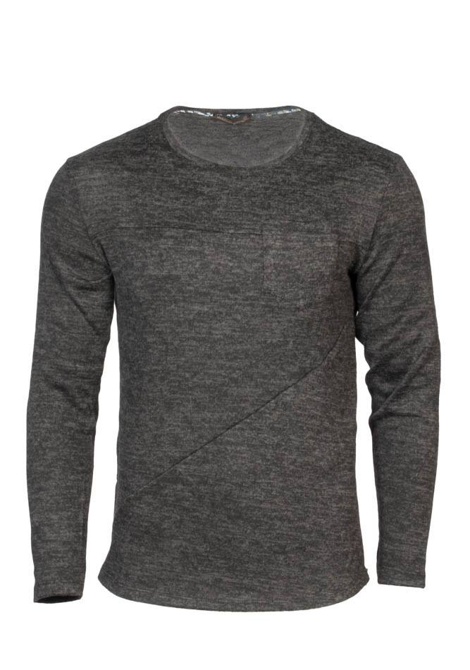 Ανδρική Μπλούζα Silver Zippers αρχική ανδρικά ρούχα μπλούζες