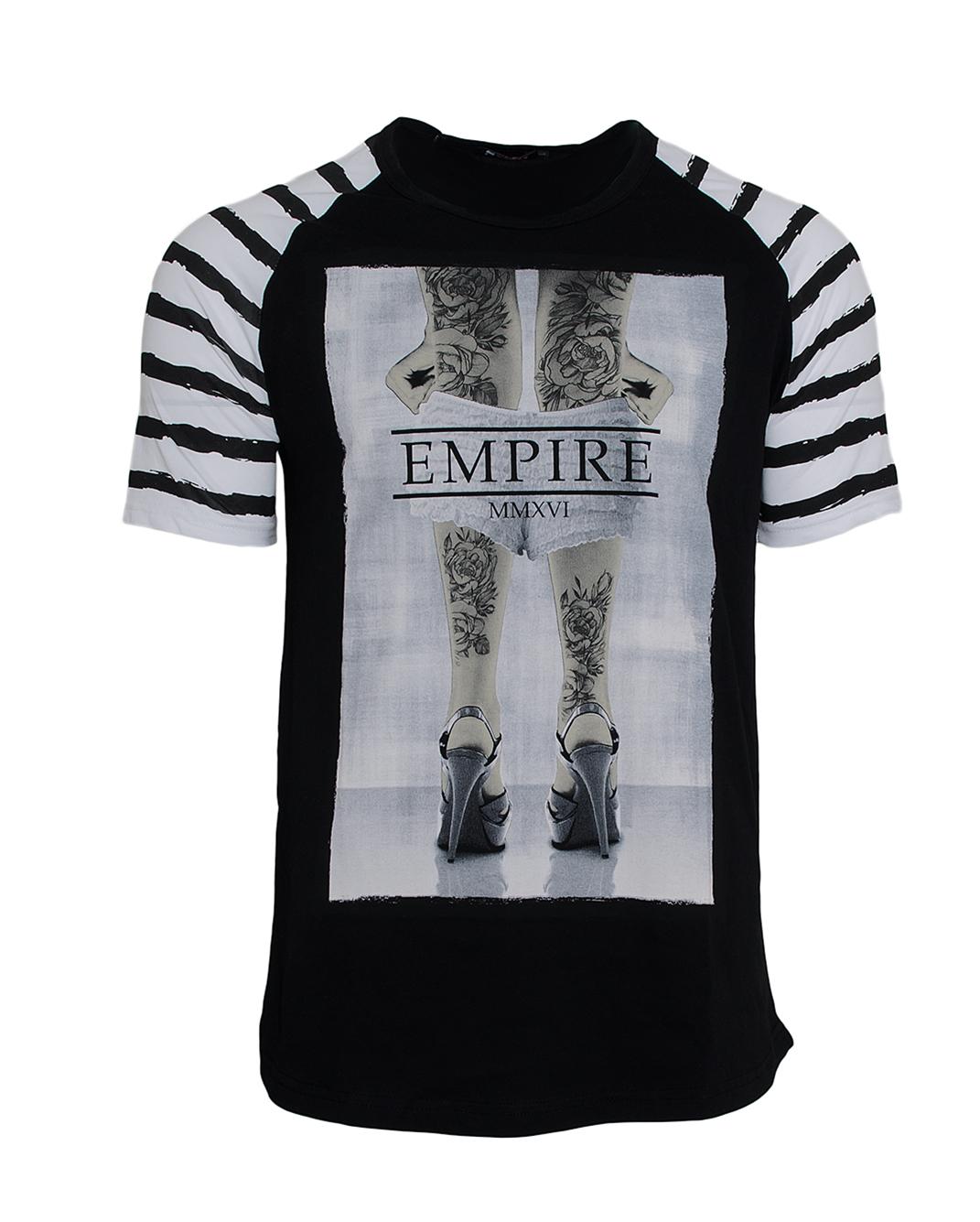 Ανδρικό T-shirt Empire-Μαύρο αρχική ανδρικά ρούχα επιλογή ανά προϊόν t shirts