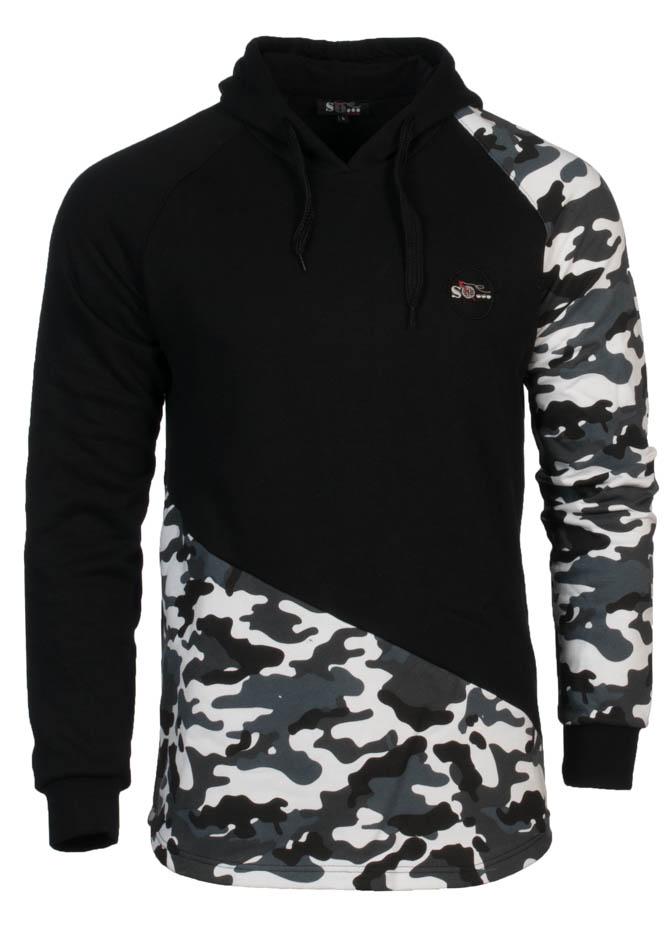 Ανδρική Μπλούζα Army Sleeve αρχική ανδρικά ρούχα φούτερ