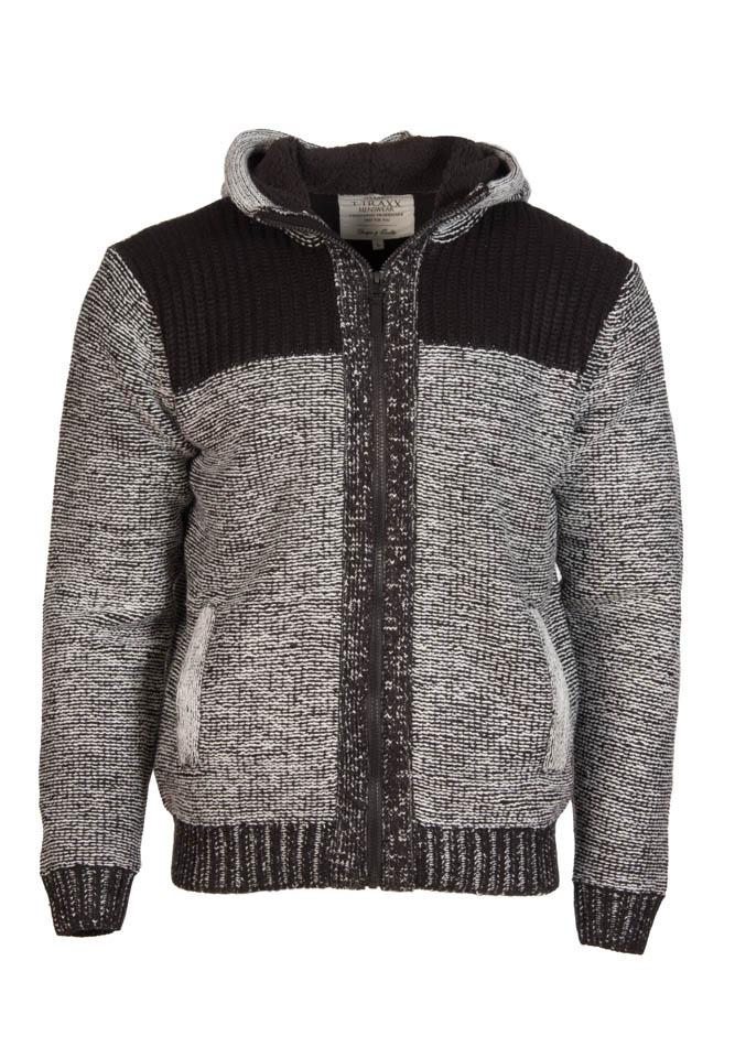 Ανδρική Πλεκτή Ζακέτα Grey Collection αρχική ανδρικά ρούχα επιλογή ανά προϊόν ζακέτες