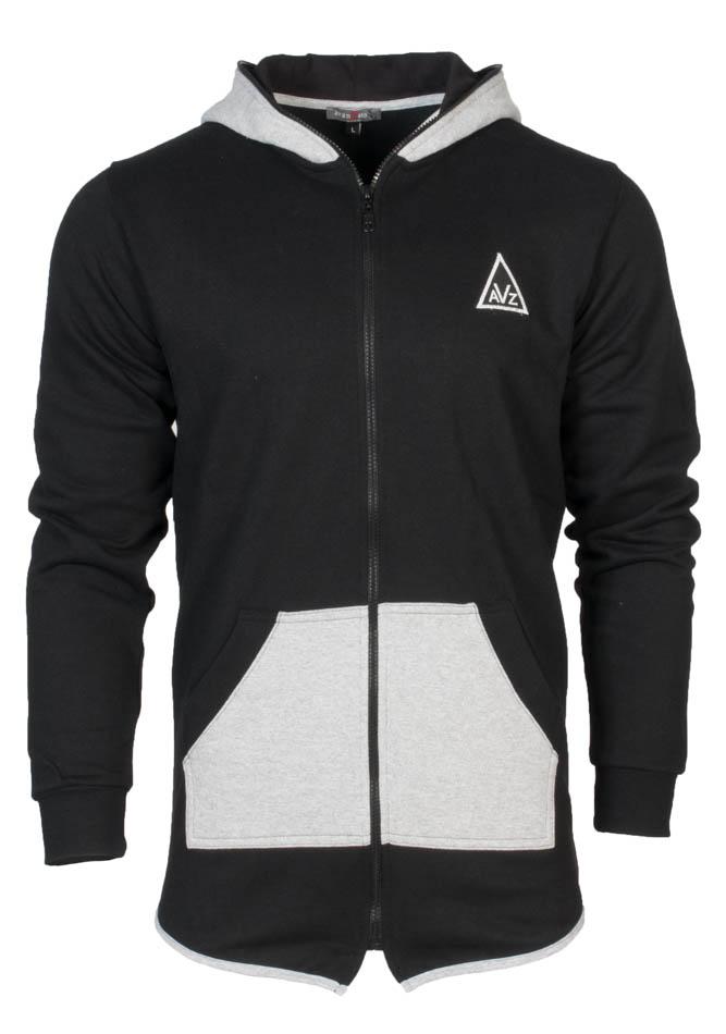 Ανδρική Ζακέτα Avanzato Black αρχική ανδρικά ρούχα φούτερ