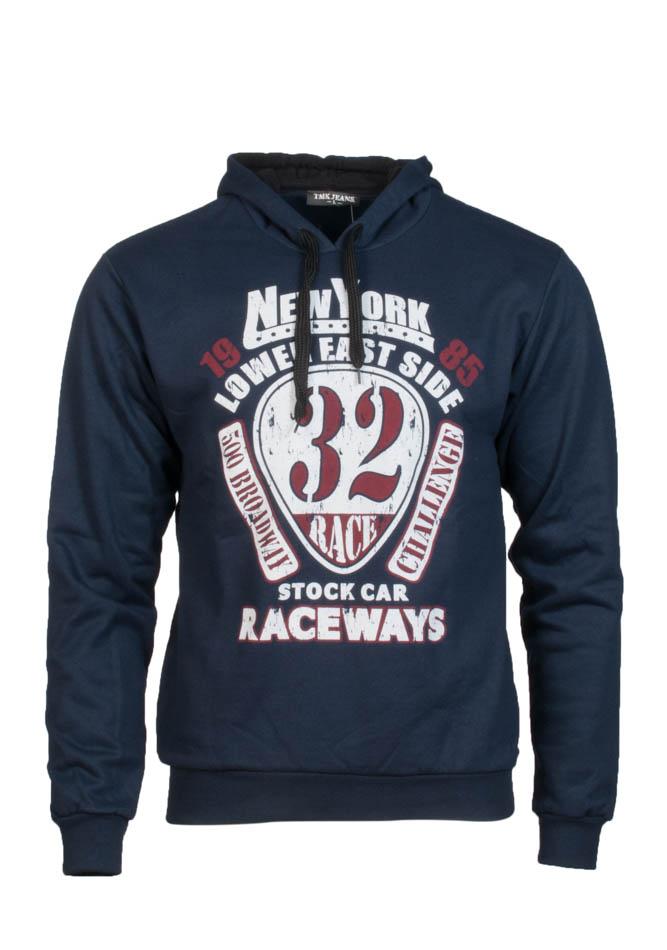 Ανδρικό Φούτερ RaceWays D.Blue αρχική ανδρικά ρούχα φούτερ