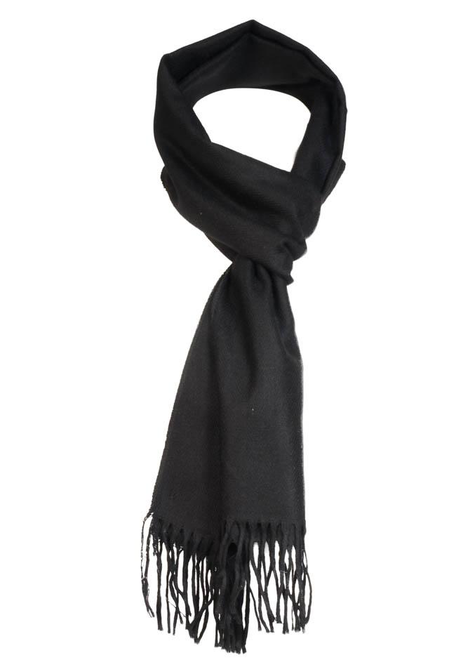 Ανδρικό Κασκόλ Black αρχική ανδρικά ρούχα αξεσουάρ κασκόλ