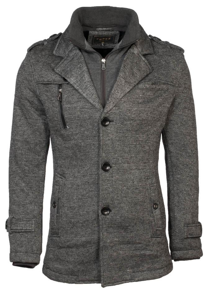 Ανδρικό Παλτό Forex Grey αρχική ανδρικά ρούχα μπουφάν