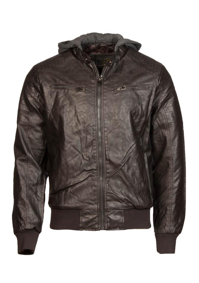 Ανδρικό Μπουφάν Premium Brown αρχική ανδρικά ρούχα επιλογή ανά προϊόν μπουφάν